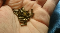 "ZHB BRASS RIVETS Ø2 * 7 mm, WITH COUNTERSUNK HEAD FOR ASSEMBLING THE ""TEAPOT"" CHASSIS, 50 pcs."