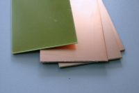ZHB Fiberglass sheet, foil on the one side, thick. 1,5 mm, sheet 100*150 mm