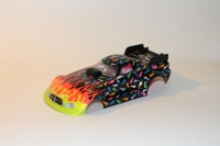 "BOLID ""TEAPOT"" 1/24 Dodge Dragster BODY, Lexan, thickness 0.25 mm, w/paint masks - #6527-PL"