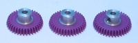 "CAHOZA POLYMER GEAR 64 PITCH, 39T, 16° ANGLE, 3/32"" AXLE, Ø16,25 mm - #11"