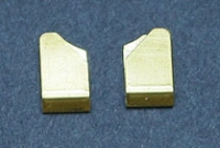 CAHOZA BRASS GUIDE CLIPS LONG, pair - #30