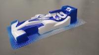 "OLEG Custom Painted Body Formula 1/24 McLaren MCL 35 2020 ALPHA TAURI AT01 2020, Lexan .007"" (0.175 mm) - #0141P2"