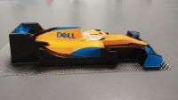 "OLEG Custom Painted Body Formula 1/24 McLaren MCL 35 2020 MCLAREN MCL35 2020, Lexan .007"" (0.175 mm) - #0141P3"