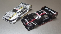 """ATTAN PRODUCTION 1/24 MERCEDES AMG C 63 DTM BODY (ISRA 2016), LEXAN, thickness 0.125 mm (.005"""")  - #1601-005"""
