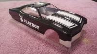 "OLEG Custom Painted Body Retro 1/24 Buick Riviera 1969 PLAYBOY, Lexan .015"" (0.381 mm) - #0132P1"