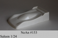 "NeAn Clear body Production 1/24 Saleen, Lexan .007"" (0.175 mm) - #153-L"