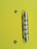 """KOLHOZA Aluminum guide nut driver for 9 mm and 3/8"""" (9.5 мм) nuts in one - KZA028"""