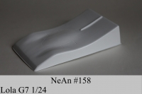 "NeAn G7 LOLA 2007 BODY, Lexan, thickness .005"" (0.125 mm) - #158-LT"
