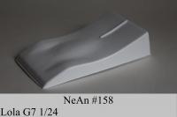 "NeAn G7 LOLA 2007 BODY, Lexan, thickness .007"" (0.175 mm) - #158-L"