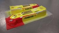 "OLEG Custom Painted Body Retro Formula 1/24 AAR Indy Eagle 1968 PENNZOIL, Lexan .010"" (0.254 mm) - #0134P1"