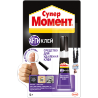 HENKEL Super glue remover Super Moment Antiglue, tube 5 g.