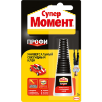 HENKEL Super glue Moment Profi, bottle 5 g.