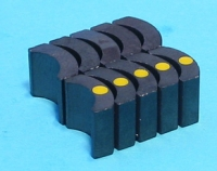 CAHOZA TORNADO 5 MAGNETS (C-CANS), 1 pair - #277