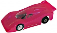 "PARMA Clear Production 1/32 Jaguar GTP body, Lexan thickness .015"" (0.381 mm), w/paint masks - #872C"