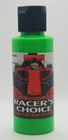 RALPH THORNE Water-based airbrush paint for polycabonate (Lexan), colour: FLOURESCENT GREEN, bottle 2 oz/60 ml. - #RTR5404