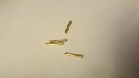 ZHB Precut Brass pin tubes ZHB, length 11.8 mm, 4 PCS - #DB408