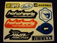 SLOTLAB SPONSOR#5 STICKERS SHEET - #MS05