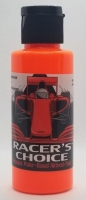 RALPH THORNE Water-based airbrush paint for polycabonate (Lexan), colour: FLOURESCENT ORANGE, bottle 2 oz/60 ml. - #RTR5409