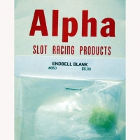 ALPHA ENDBELL FOR MOTOR, PLASTIC, DIA. 16.45 MM - #850