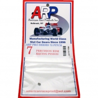 ARP EDM Pinion 72 pitch 7 teeth, 0° angle 2 mm bore - #ARP7207EDM