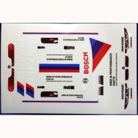 ATTAN BMW STICKER SHEET M POWER 94 х 140 мм