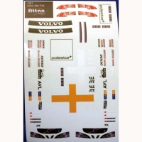 ATTAN VOLVO S60 TTA STICKER, w/cut outline, 94 х 140 mm