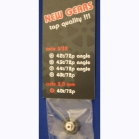 ATTAN Gear 72 pitch 40 teeth, 0° angle, 2 mm axle - #ATT72402