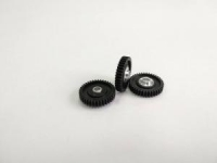 """BSV Gear 72 pitch, 37T, 0° angle, 3/32"""" axle, with a short hub, for gluing  - #BSV7237332led"""