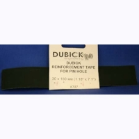 """DUBICK Reinforcement tape for pin hole, 30 x 180 mm (1,18"""" x 7,1"""") - #DB707"""