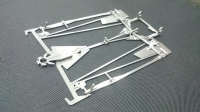 Dubick 2014 ES 1/24 Chassis Assembled without ballbearings
