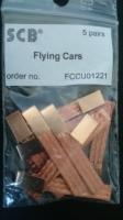 SCB braids FLYING CARS (sizes: 5,10 x 0,70 mm), 5 pair - #FCCU01221