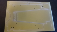 "INTECHNO KIT FOR BUILD CHASSIS ""TEAPOT"" 1/24. SHEET 100 x 200 mm, thick. 1,5 mm, w/cut on half depth of chassis details - #IR06"