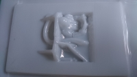 """BOLID INTERIOR FOR """"TEAPOT"""" 1/24 BODIES, W/SAFETY CAGE AND FIRE EXTINGUISHER, Lexan, thickness 0.125 mm - #65101-L"""