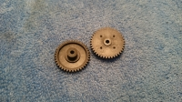 """S&K GEAR 48 PITCH, 40T, w/out hub for press-on 3/32"""" axle, (Ø21 mm)"""