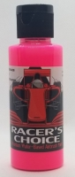 RALPH THORNE Water-based airbrush paint for polycabonate (Lexan), colour: FLOURESCENT HOT PINK, bottle 2 oz/60 ml. - #RTR5407
