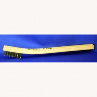 FRONT_LINE STAINLESS STEEL BRUSH FOR BRAID  - #310