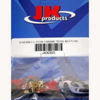 JKP ENDBELL FOR HAWK MOTOR W/EXTENDED BRUSH HOODS FOR SET OPTIONAL ARMATURE PROSLOR#4016 - #30303