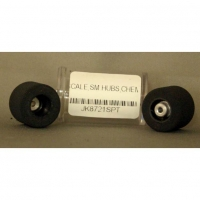 "JKP MODEL WHEELS 3/32"" AXLE, 15.3MM WIDTH, ON PLASTIC RIMS, for F1/32, pair - #JK8721SP"