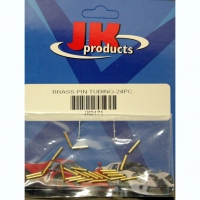JKP BRASS PIN TUBING, lenght 10.8 mm, 4 psc. - #JKP9171