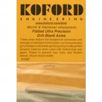 """KOFORD 3/32 AXLES Flatted  Ø3/32"""" (2.36 mm), (length 53 mm)  - #M156F"""
