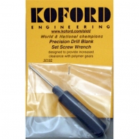 "KOFORD .050"" GEAR AND WHEEL ALLEN WRENCH, black, anodized - #M162"