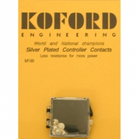 KOFORD SILVER CONTROLLER CONTACTS, 6 ps. - #M189