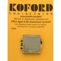 KOFORD 0-80X3/32 ALUMINUM CAN & ENDBELLS SCREWS, FOR ALLEN KEY, 24 pcs. - #M256