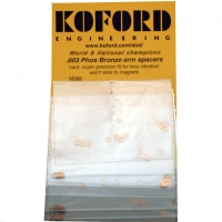 "KOFORD .007"" (0,178 MM) THICK, BRONZE ARM (2 MM) SPACER, 12 pcs. - #M265"