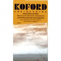 "KOFORD 3/32"" (2.36 MM) .010 (0.26 MM) THICK PHOS BRONZE AXLE SPACER, 12 psc. - #M296"