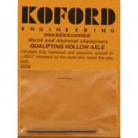 "KOFORD Ø3/32"" (2.36 mm) PREMIUM HOLLOW AXLE, length 53 mm - #KOF339"