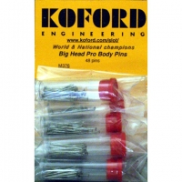 KOFORD BIG HEAD PRO BODY PINS, 48 psc. in tube - #M376