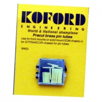KOFORD CUT BRASS PIN TUBE, lenght 12.8 mm, 24 psc. in box - #M453