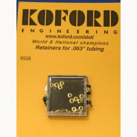 KOFORD BRASS RETAINERS FOR .063 TUBING 24 pcs. - #M536