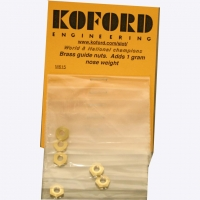 KOFORD BRASS GUIDE NUT 9.5 MM SOCKET - #M615